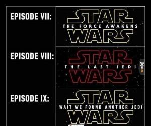 Tytuły nowej trylogii Star Wars