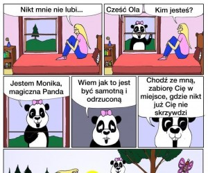Depresyjna panda