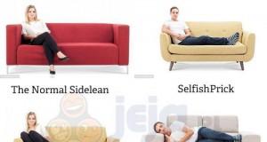 Pozycje na kanapie