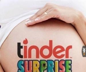 Tinder niespodzianka