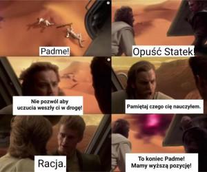 Nauki Obi Wana nie poszły w las