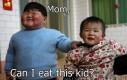 Mamo, mogę zjeść to dziecko?