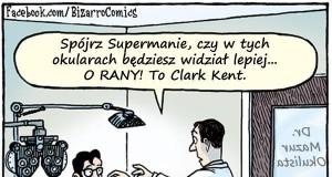 Superman u okulisty