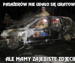 Pasażerów nie udało się uratować