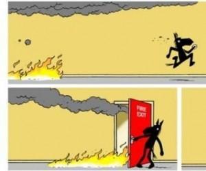 Proszę bardzo, ogniu