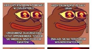 Pepe i Sid Meier's Civilization