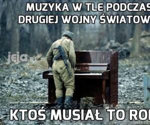 Bo niby skąd brała się ta muzyka?