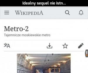 W sowieckiej Rosji nawet metro ma sequel