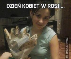 Dzień Kobiet w Rosji...