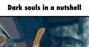 Typowa walka w Dark Souls