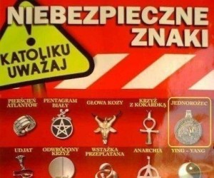 Niebezpieczne znaki