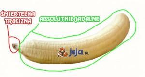 Banan i jego elementy