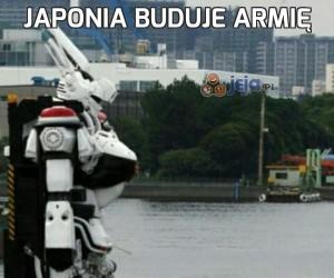 Japonia buduje armię