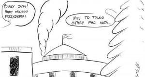 Biały dym nad Pałacem Prezydenckim!