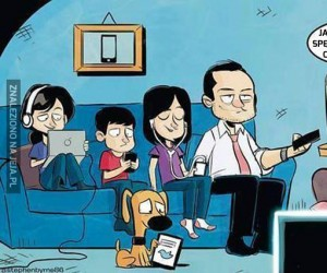 Ach, te rodzinne posiadówki...