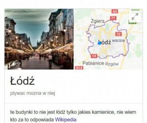 Google jak zawsze dokładne