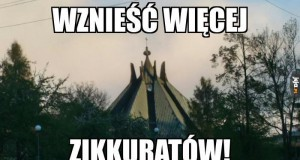 Tak wygląda pewien kościółek w śląskim