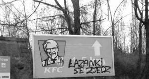 Łazanki, a nie jakieś podrabiane kurczaki
