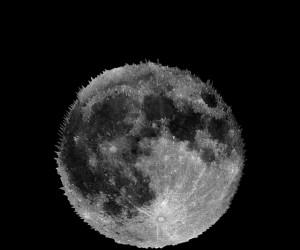Księżyc w 3d