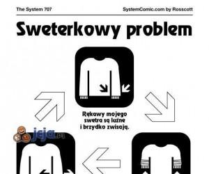 Sweterkowy problem - błędne koło