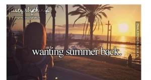 Czekając na lato