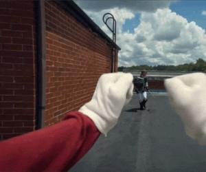 Mario walczy z Linkiem