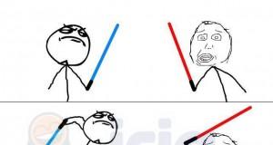 Gdybym był rycerzem Jedi...