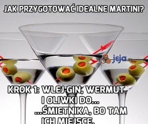 Jak przygotować idealne martini?