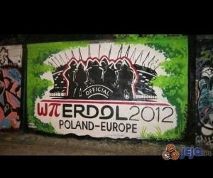 Grafiti na Euro 2012