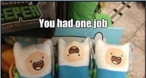 Miałeś jedno zadanie