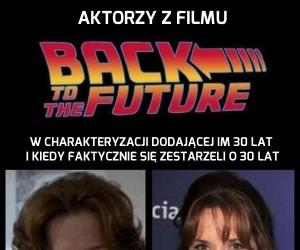 """Aktorzy z filmu """"Powrót do przyszłości"""" 30 lat później"""