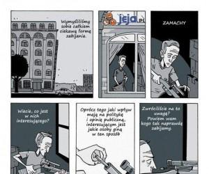 Krótki komiks o pokoju na świecie
