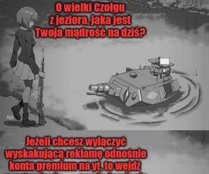Dzięki, panie czołgu