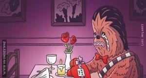 Samotny Chewie
