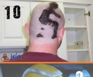 Przedziwne fryzury