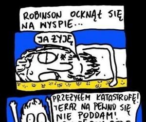 Robinson na wyspie