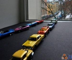 Sznur samochodów