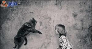 Dziewczynka i kot