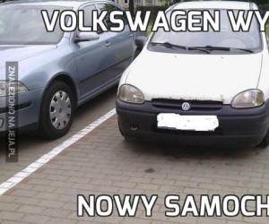 Volkswagen wypuścił