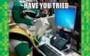 Próbował pan przyzwać Dragonzorda?