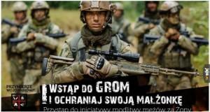 Wstąp do GROM i ochroń swoją małżonkę!