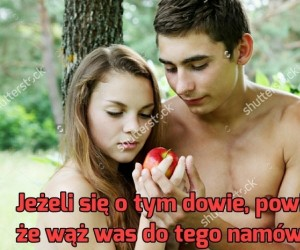 Tak naprawdę to jabłko było tym złym