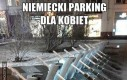 Niemiecki parking dla kobiet