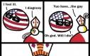 Przykro mi, USA