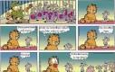 Garfield myśli o jedzeniu myszy