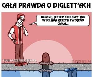 Cała prawda o Diglett'ach