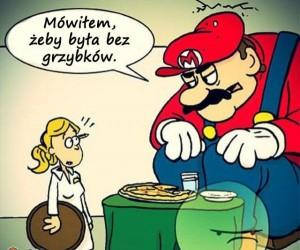 Mario na pizzy