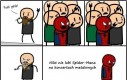 Spiderman na koncertach