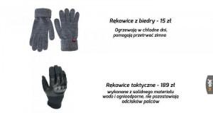 Z rękawicami tak to właśnie jest..