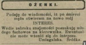 Ogłoszenia matrymonialne z PRL